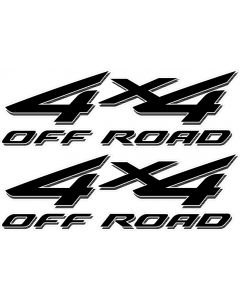 2002 - 2008 4x4 Decals for Ford F Series Super Duty HD