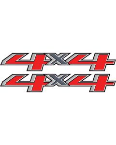 4x4 Decals FITS 2014 Chevy GMC SIlverado Sierra