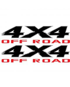 2003 2004 2005 2006 2007 2008 2009 2010 2011 2012 2013 4x4 Off Road decals for Nissan Titan PRO-4x