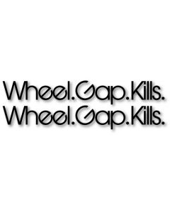 Wheel Gap Kills Decal