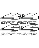 Aftermarket 4x4 Decals for Ford Ranger